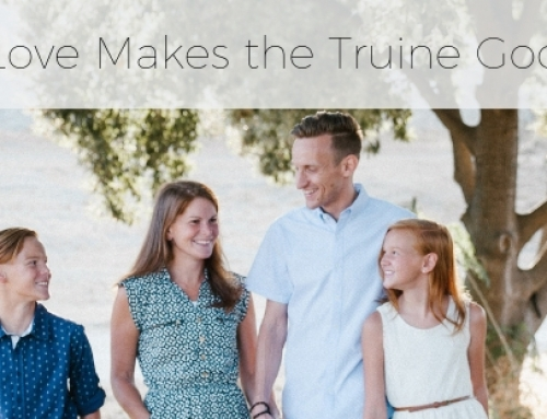 Family Love Makes The Triune God Visible