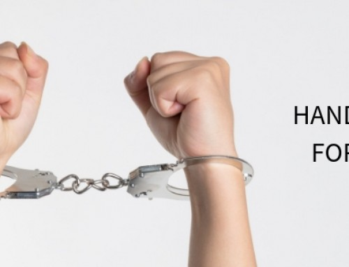 Handcuffed for Jesus