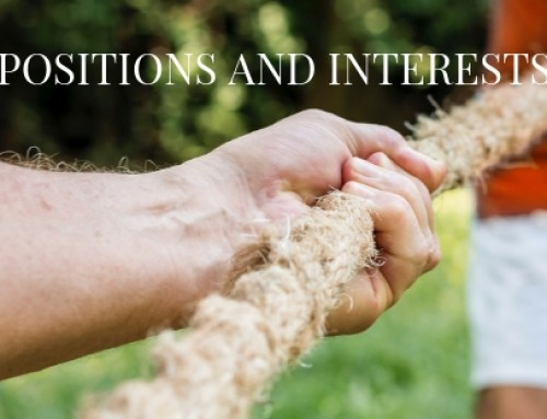 Positions and Interests