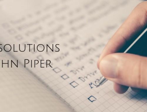 17 Teen Resolutions from John Piper