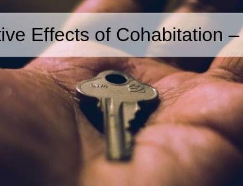 The Negative Effects of Cohabitation – Continued